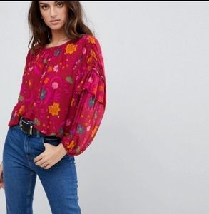 NEW Arrival!! Free People Wildflower Honey Top NWT